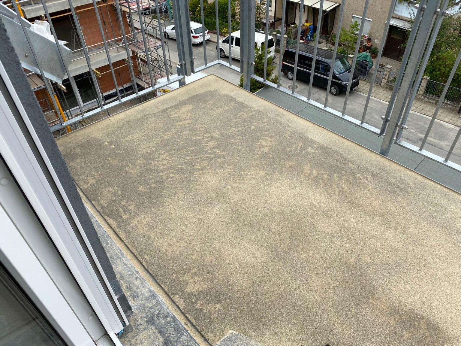 Beschichtung Balkon