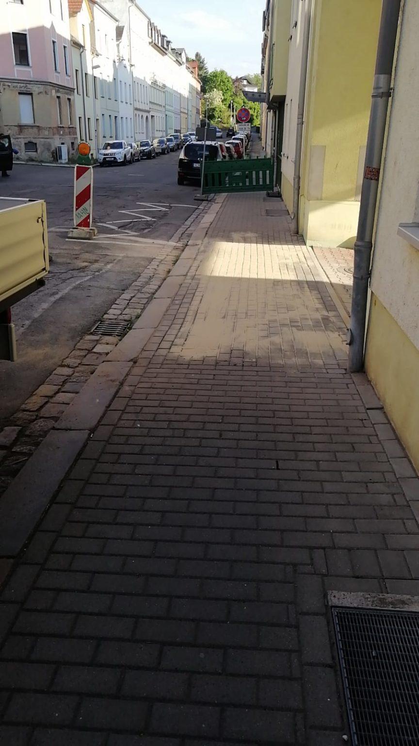 Sanierung Gehweg
