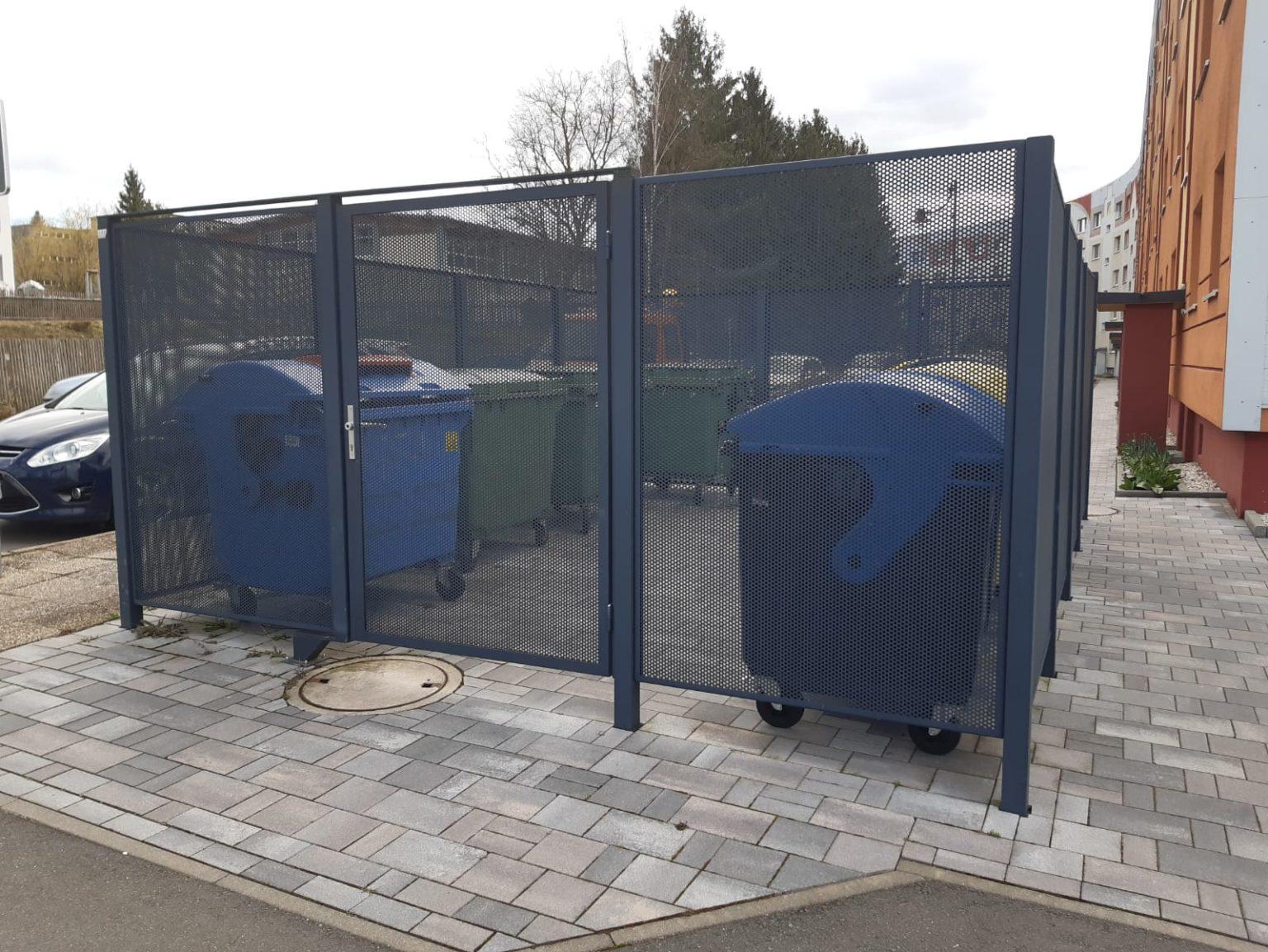 Einhausung Müllplatz Stadtilm