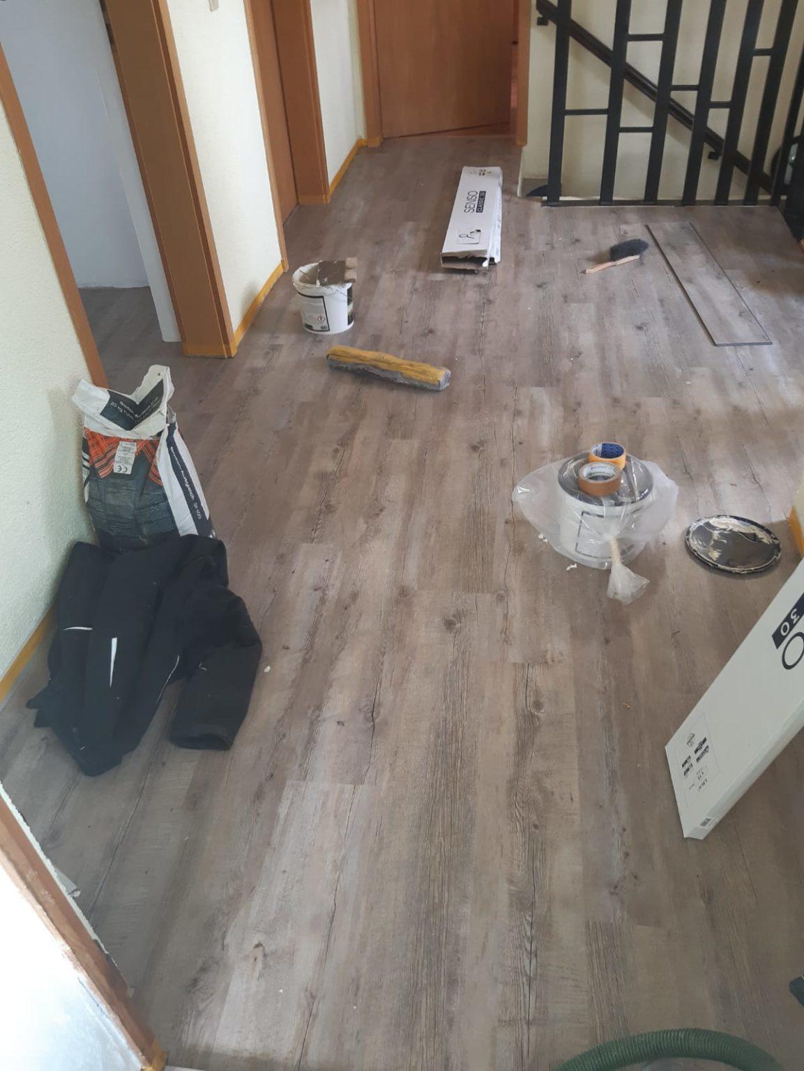 Verlegung Vinylboden
