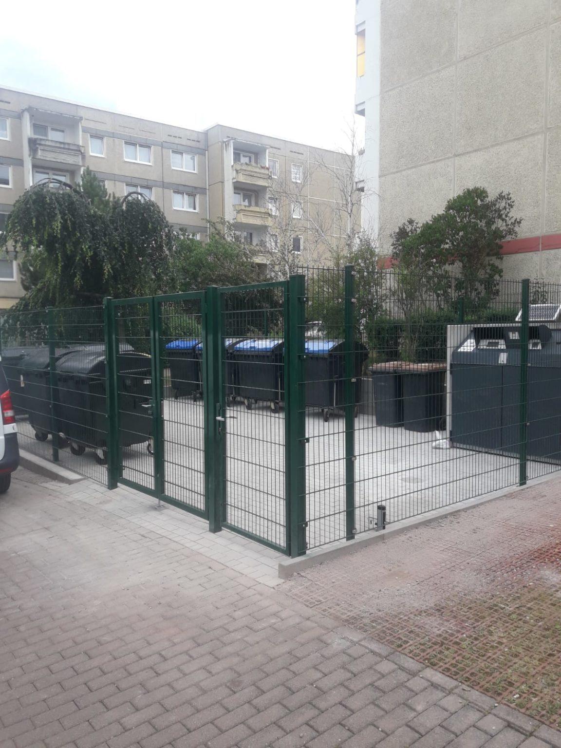 Tiefbau Müllplatz
