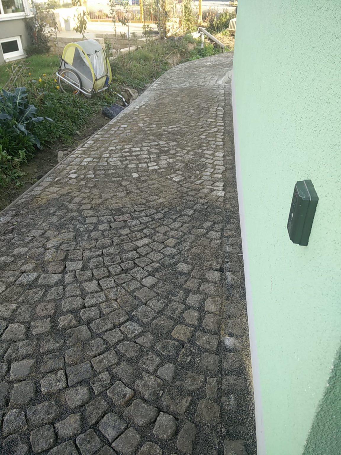 Verlegung Granit