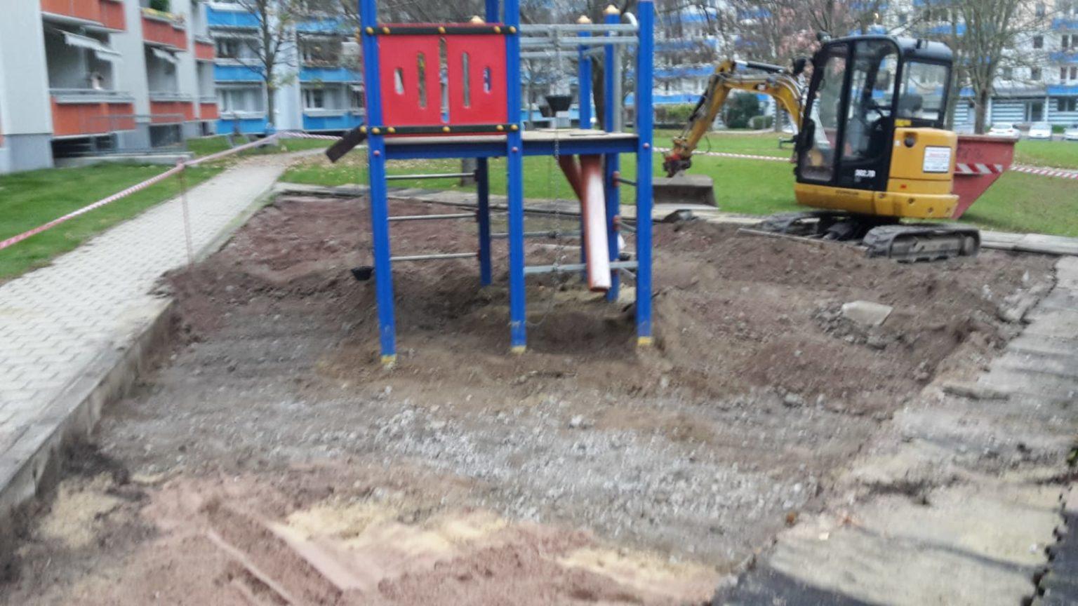Sanierung Spielplatz Gotha