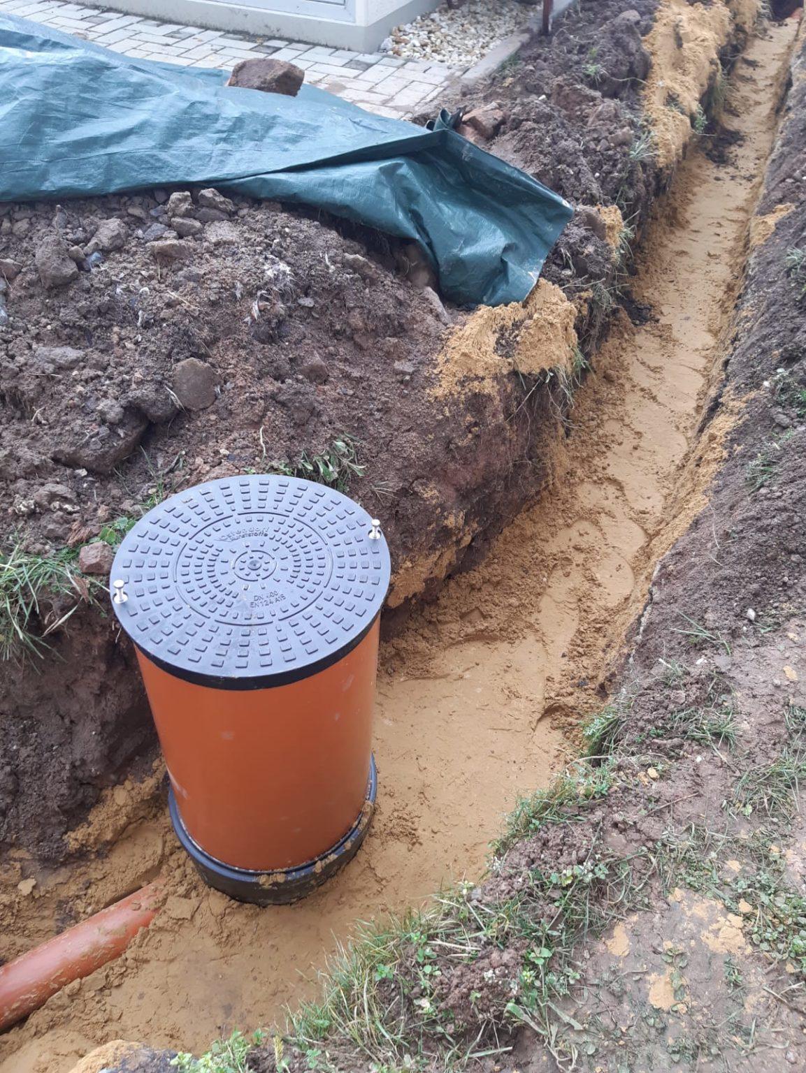 Erneuerung Abwasserleitung Stadtroda