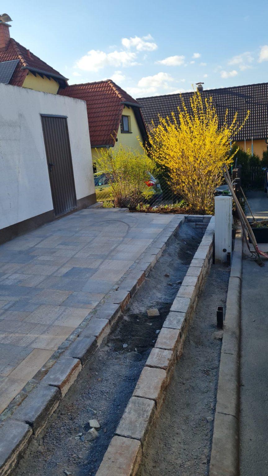 Gestaltung Außenfläche Stadtroda