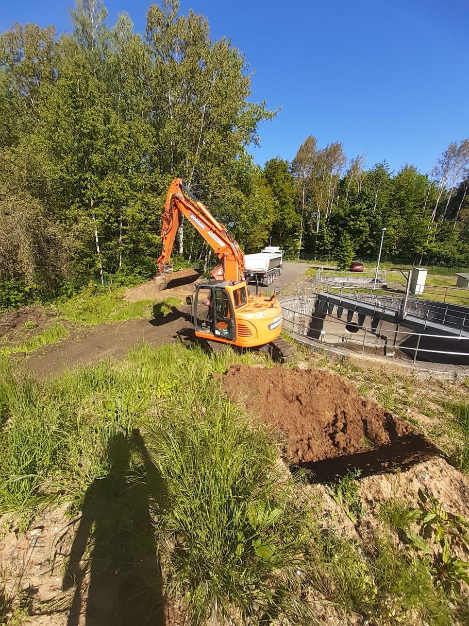 Vorbereitung Neubau Hermsdorf